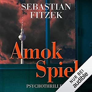 Amokspiel Hoerbuch Cover