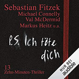 PS ich toete dich Hoerbuch Cover